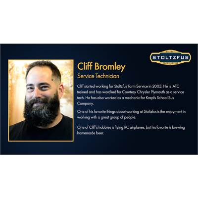 Cliff Bromley - Technician