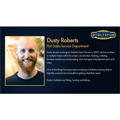 Dusty Roberts - Service Writer