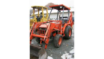 2001 L35 Tractor Loader Backhoe