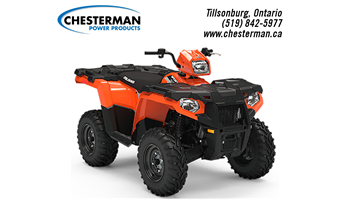 2019 Sportsman® 450 EPS LE - Orange Burst