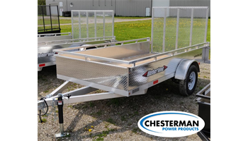 2019 5x10 Aluminum Single Axle Utility Trailer (AWL1060)