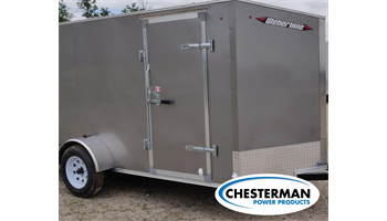 2019 6x12 V-Nose Estate Enclosed Cargo Trailer - BARN DOORS - *MADE IN CANADA*