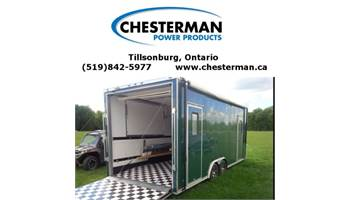 2014 8.5x22 Cargo Trailer Toy Hauler w/ 3000 Watt Inverter Generator LOADED