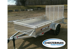 5x10 Aluminum Single Axle Utility Trailer - Alum. Floor (AWL1060)
