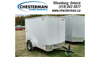 2018 5x8 Outback Cargo Trailer - Barn Door