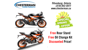 2018 RC 390 - PROMO & 0.99% Financing OAC