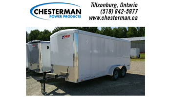 2019 7X16 Journey SE Tandem Cargo Trailer - Barn Doors