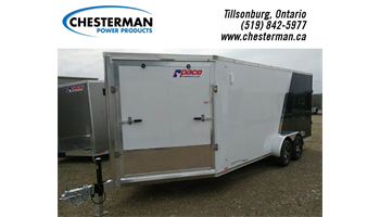 "2019 7x23 Highmark Tandem Cargo Trailer - Rear Ramp +6"" Height"