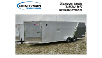 2019 7x25 Highmark Tandem Snowmobile Trailer