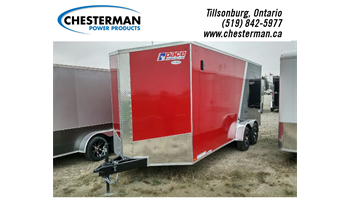 "2019 7x18 Journey SE Tandem Cargo Trailer - Rear Ramp / +12"" Height"