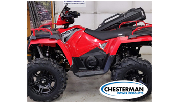2019 Sportsman® 450 H.O. EPS - Indy Red - CUSTOM BUILD