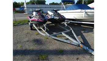 2014 Spark 2 seater and Spark 3 seater with trailer