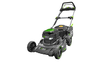 "Power+ 20"" Self-Propelled Lawn Mower with Steel Deck"