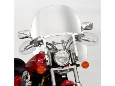 National Cycle Switchblade 2-UP Clear Windshield | Fitment: Honda VT750 ACE `97-`03 | VT750 Spirit '01-'16 | VT1100 ACE '95-'99 | VT1100 Spirit '97-'07