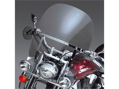 National Cycle Switchblade 2-UP Clear Windshield | Fitment: Honda VTX1300 R / S '03-'09