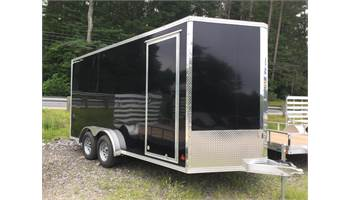 2019 ENCLOSED 7.5' X 16' EXTRA HEIGHT