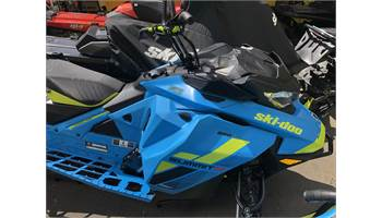 2018 Summit® X 850 E-TEC® 154 SHOT - Octane Blue/Manta