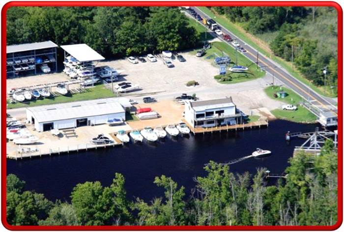 Centerville Waterway Aerial Images