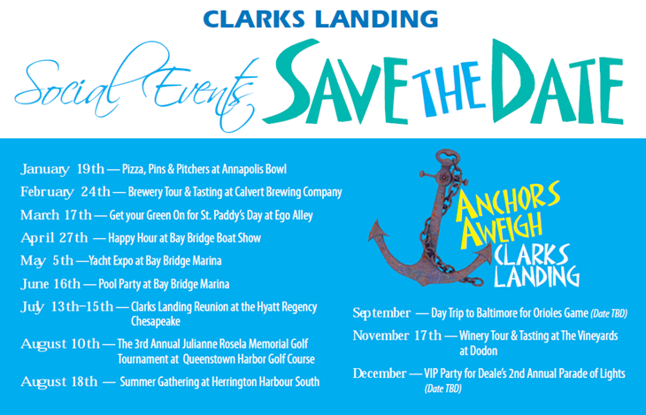 Anchors Aweigh 2018 Events