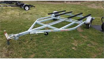 2019 Haul Rite Double Watercraft Trailer Galvanized