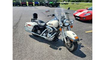 2008 FLHR Road King Decommissioned Police Bike