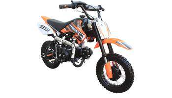 110CC Fully-Auto Mid Sized Dirt Bike