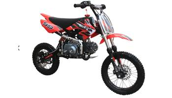 125CC Semi-Automatic Mid Sized Dirt Bike