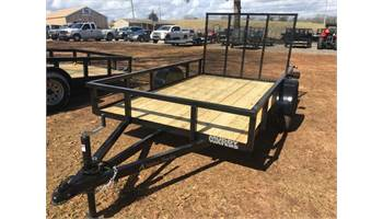 6x10 Tube Top / Hybrid Utility Trailer