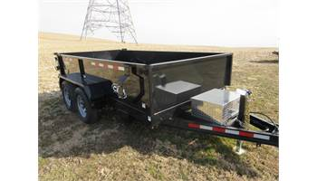 2019 P10612LPDT Camsuperline Advantage 5-TON Dump with 3-WAY Gate and ramps