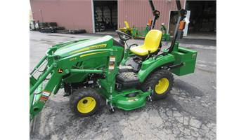 "2019 1023E , w/ Loader, 54"" Mower & Ballast Box"