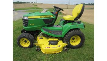 2014 Signature Series X758 24 hp with 60-in. HC Deck, & 54 Snow Blower