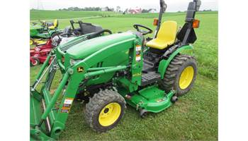 "2012 2000 Series 2320 w/H130 Loader & 54"" Drive over Mower Deck"