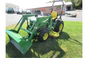 "4100 Hydro/410 Loader/60"" Mid Mower"