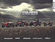 2018 Polaris Off-Road Vehicle Lineup