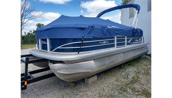 2019 PARTY BARGE® 20 DLX 60HP Blue