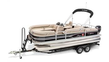 2019 PARTY BARGE® 22RF DLX 90HP Black