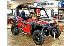 Polaris GENERAL™ 1000 EPS Ride Command Edition - Matte Sunset Red