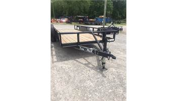 2019 20' Heavy Duty Pipe Top Utility Trailer