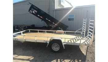 "2019 Alum Flatbed Side Kick LT 72""x14'4"""