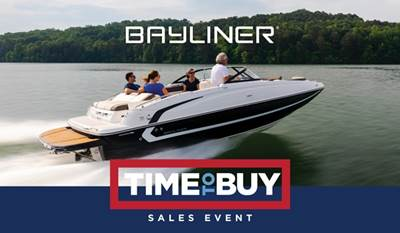 2019 bayliner time to buy