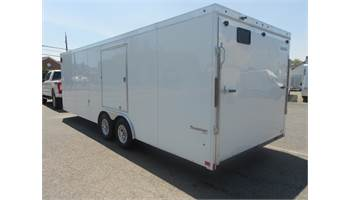 2019 24' Transport V-Nose -  Escape Door - Extended Tongue - Extras - 10,000 GVW