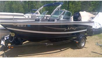 2015 SOLD!1675 CROSSOVER XS Fish and Ski with 115HP Mercury Four Stroke