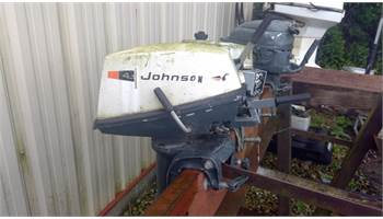 1970 4 HP short shaft manual start two stroke outboard