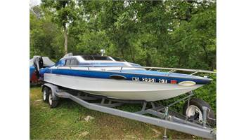 1990 Sleekcraft cuddy W/ big block 454 Bravo 1 w/through hull exhaust