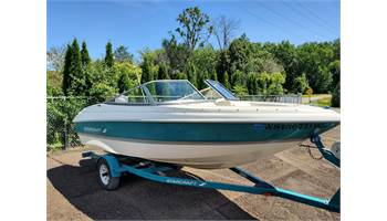 1996 1700 BOWRIDER W/120HP Force Outboard
