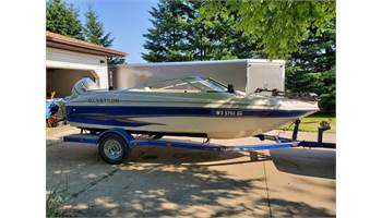 2003 GX 180 Ski Fish.  115HP Johnson