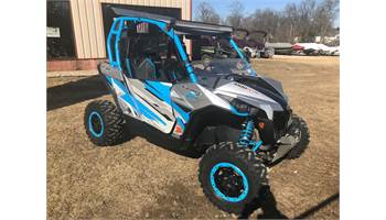 2016 Maverick™ X® ds Turbo 1000R - Hyper Silver & Blue
