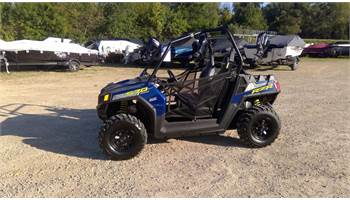 2018 RZR 570 Blue with power steering!! Price includes freight and prep!