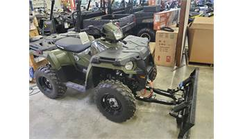 2019 Sportsman 570 Green.  Winch and plow package installed!  from $145.00/month!!