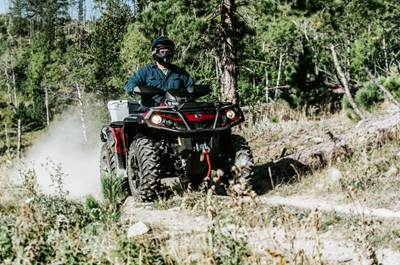 can am outlander atv 4
